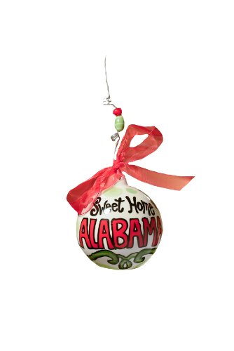 Glory Haus Sweet Home Alabama Ball Ornament, 4 by 4-Inch