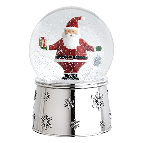 Reed & Barton 2215 Jolly Santa Snow Globe