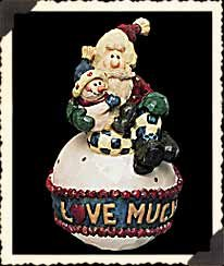 Boyds Bears Ornament – Love Much