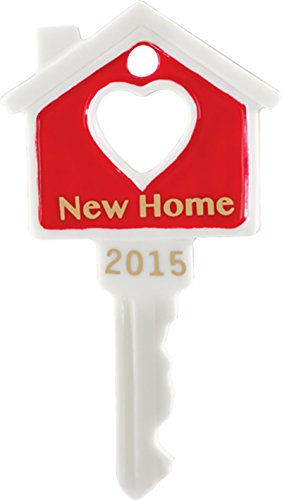 2015 New Home – Porcelain Key Carlton Ornament