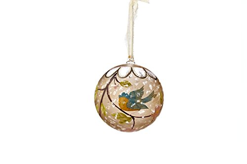Sage & Co. XAO17164 4″ Hand Painted Bird Ornament