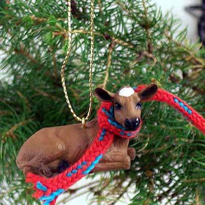 Conversation Concepts Guernsey Cow Original Ornament