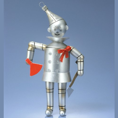 De Carlini Tin Man Ornament Wizard Of Oz – Blown Glass 7.50 IN