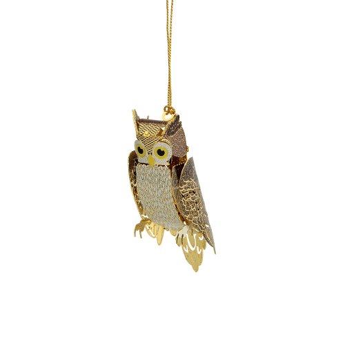 ChemArt Owl Ornament