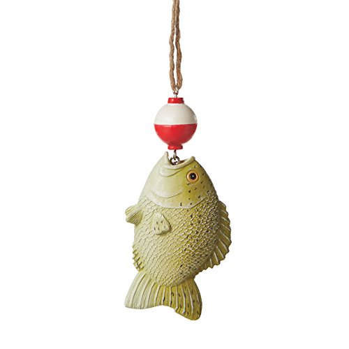 Fish with Bobber Christmas Ornament Fishing