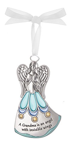 A Grandma Is An Angel Zinc Ornament