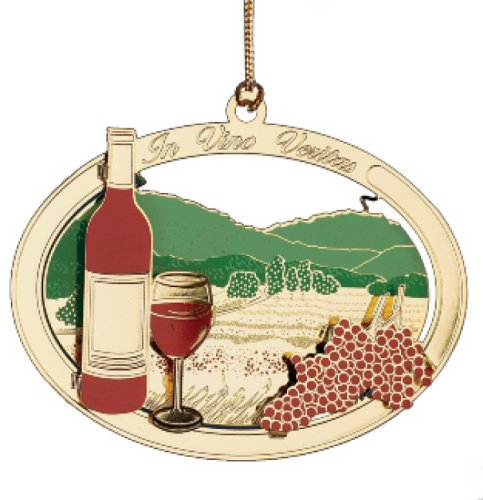 ChemArt Wine Country Ornament
