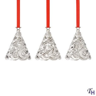 Lenox 3-Piece Tree Ornament Set
