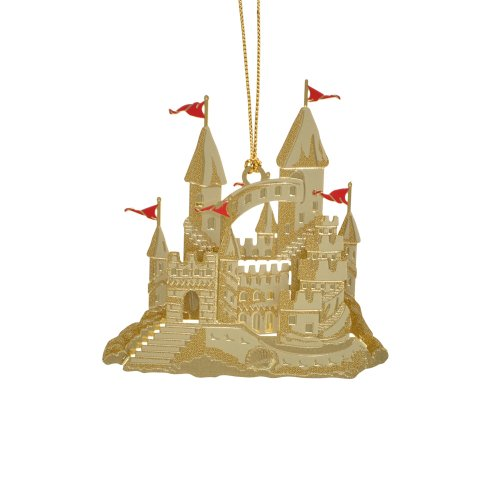 ChemArt Sandcastle Ornament
