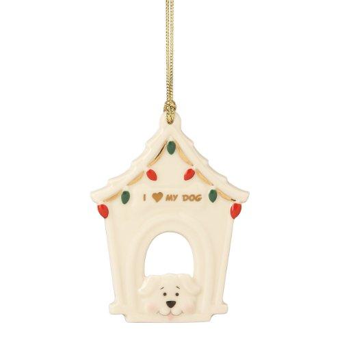 Lenox I Love Dog Ornament
