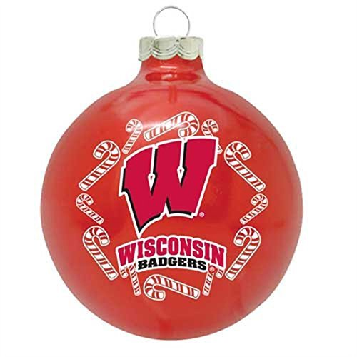 Wisconsin Badgers 2013 Traditional Christmas Ornament by Topperscot