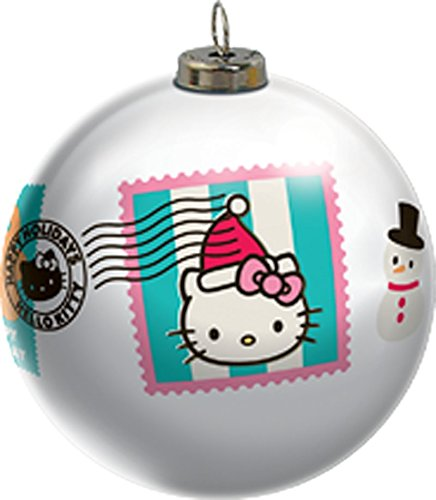 2015 Hello Kitty Light Up Ball Carlton Ornament
