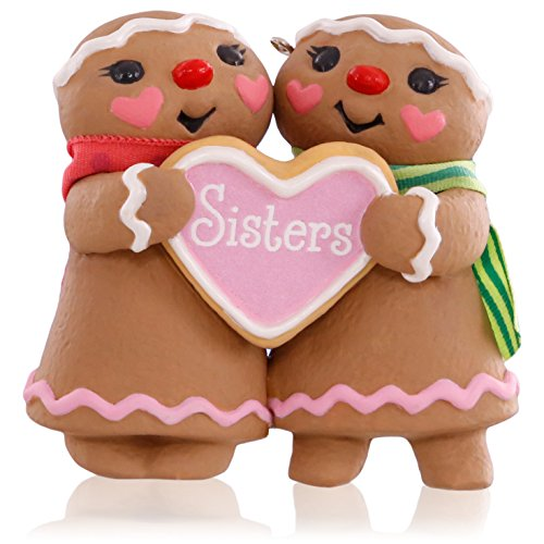 Hallmark Keepsake Ornament: Sweet Sisters Gingerbread Girls
