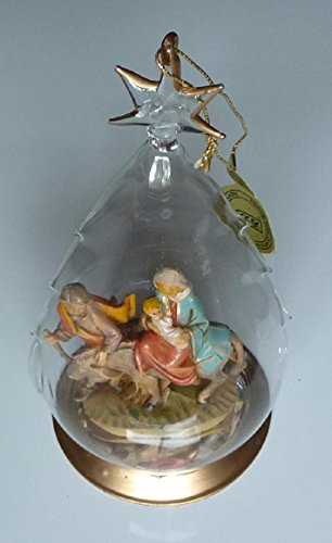 Fontanini Christmas Glass Dome Ornament – The Holy Family