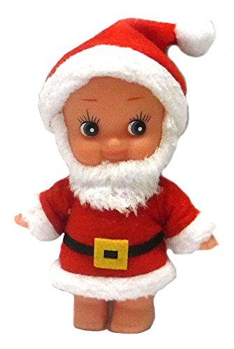 Cupie Santa – Retro Kewpie Doll Style Santa Christmas Ornament