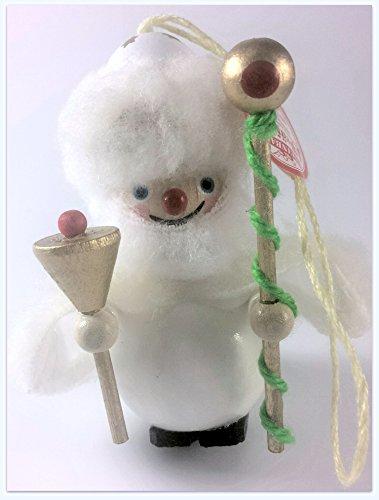 Steinbach Collectible Ornament White Santa