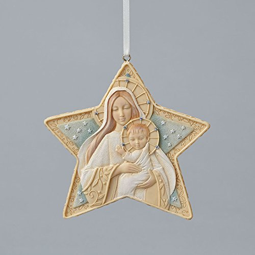 Enesco Foundations Star Ornament 3.7 IN