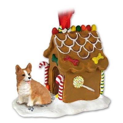 Welsh Corgi Gingerbread House Ornament – Pembroke
