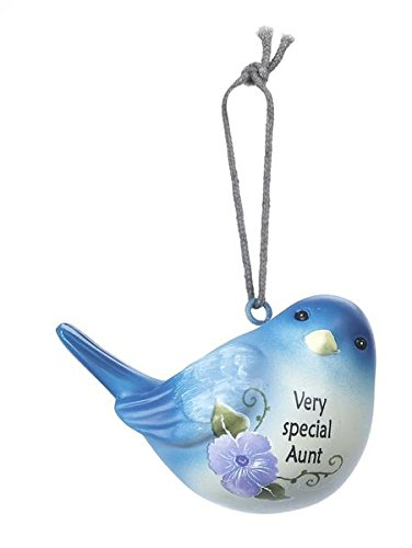 Very Special Aunt Gift Bluebird Ornament