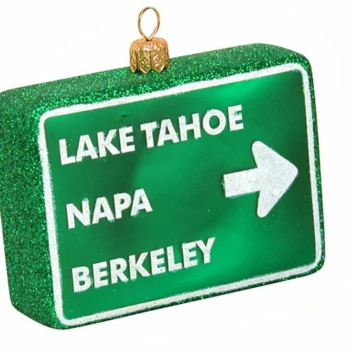 Ornaments to Remember: NORTHERN CALIFORNIA CITIES Christmas Ornament