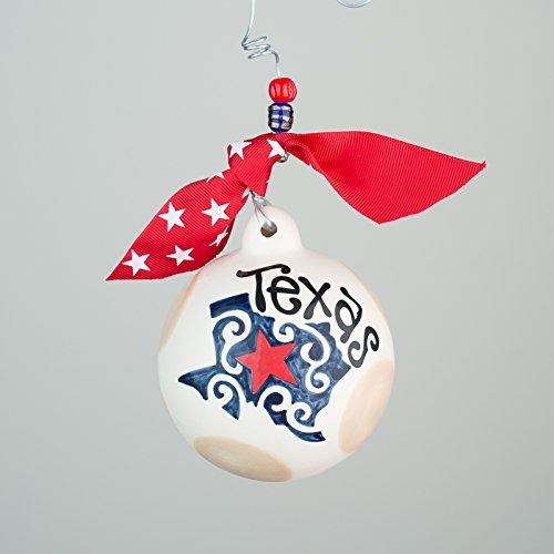 Texas Ball Ornament