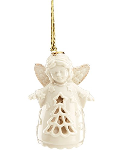 Lenox Exclusive Pierced Angel Tree Bell Ornament