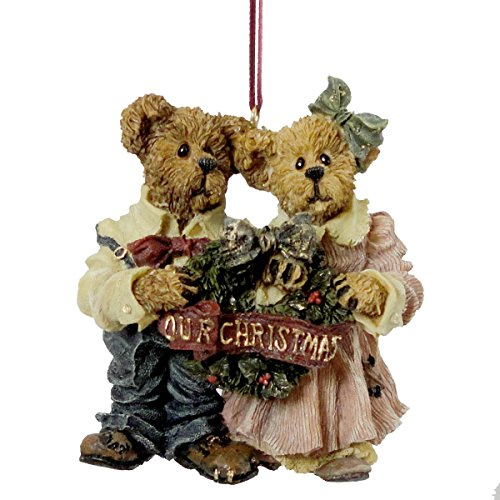 "Boyds Bears ""Grenville & Beatrice"" First Christmas Together Ornament"