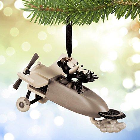 Disney 2015 Sketchbook Mickey & Minnie Mouse – Plane Crazy Christmas Ornament Holiday Tree