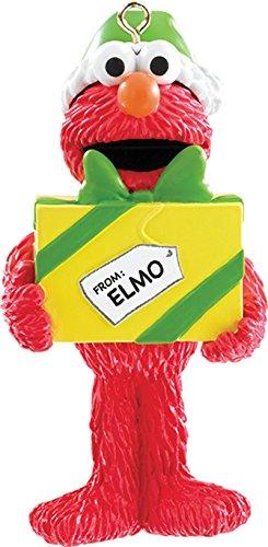 2015 Elmo with Present Carlton Ornament