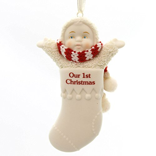 Dept 56 Snowbabies Bitty Baby's 1st Christmas Ornament