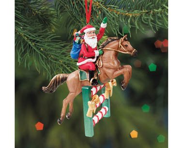 BREYER ★ ANGEL FILLIES ORNAMENT ★ 2014 HOLIDAY HORSE ★ ALL COLORS (Green)