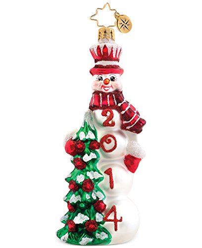Christopher Radko Macy's Exclusive Frosted Fir Ornament