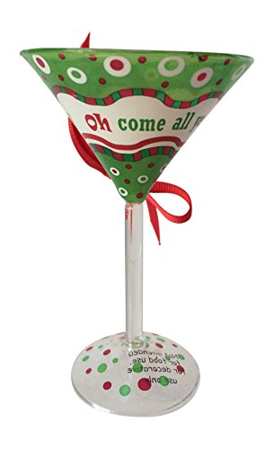 Ganz Martini Glass Ornament – Oh Come All Ye Thirsty