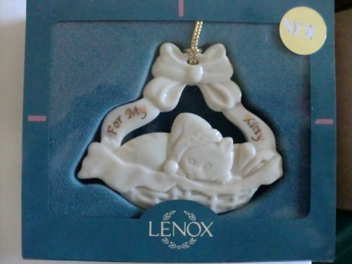 Lenox for My Kitty Ornament