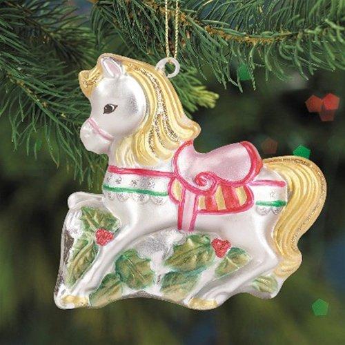 Breyer 2009 Golden Star Blown Glass Ornament