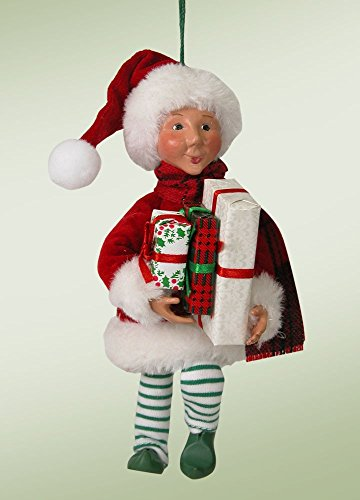 Byers Choice Wraps Tree Ornament