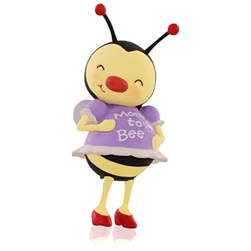 Hallmark QGO1127 Mom to Bee Pregnancy Ornament