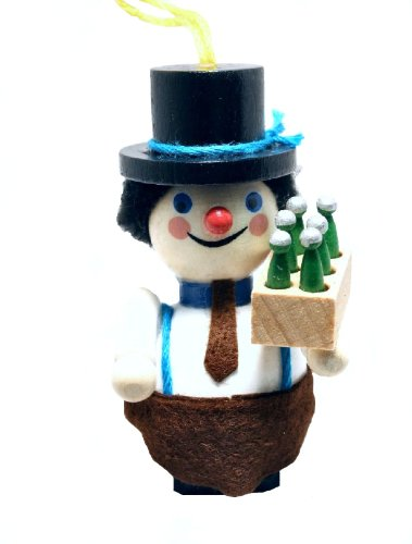 Brewmaster Steinbach Wood Christmas Tree Ornament