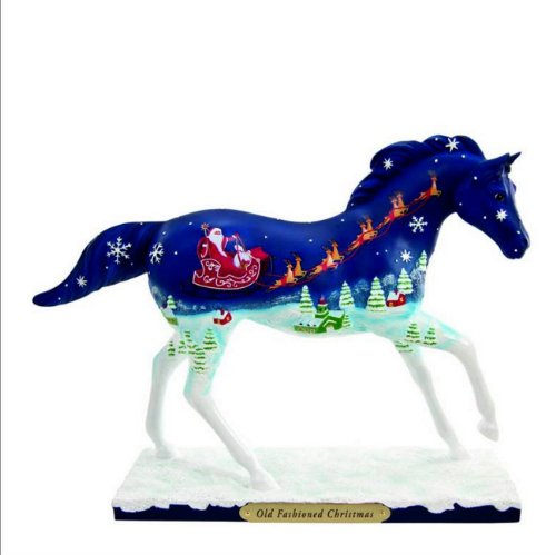 2013 Enesco Trail of Painted Ponies *Old Fashioned Christmas* 1E/Low Numbers