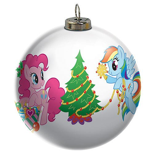 2015 My Little Pony Light Up Ball Carlton Ornament