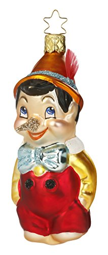 Pinocchio, #1-078-15, from the 2015 Fairytales Collection by Inge-Glas Manufaktur; Gift Box Included
