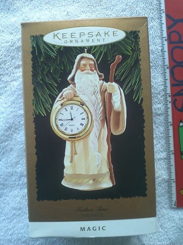 Father Time Timepiece Magic Ornament 1996