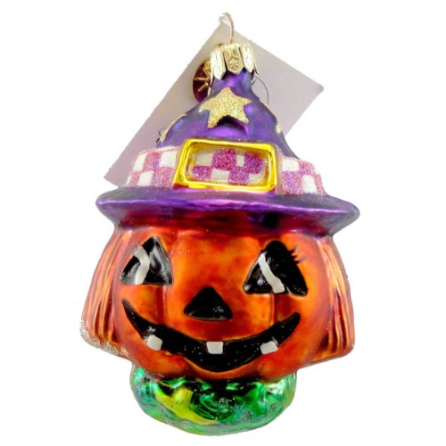 "Christopher Radko ""Jackie O'Lantern Jr."" Decorative Halloween Ornament #00-469-0"