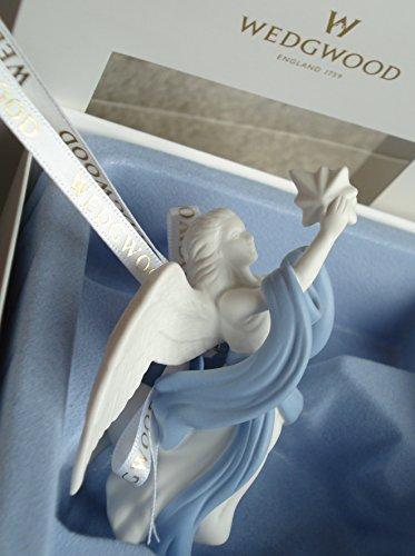 Wedgwood Angel w Star Ornament 2013