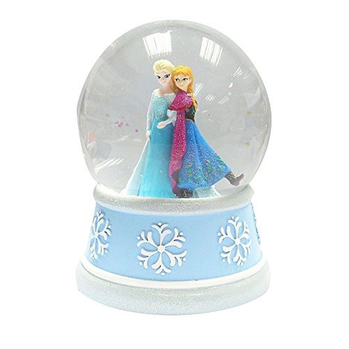 Frozen Elsa & Anna Musical Snow Globe (Plays Let It Go)