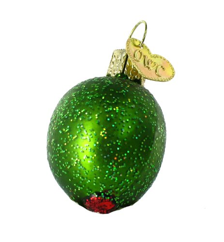 Old World Christmas Stuffed Olive Ornament