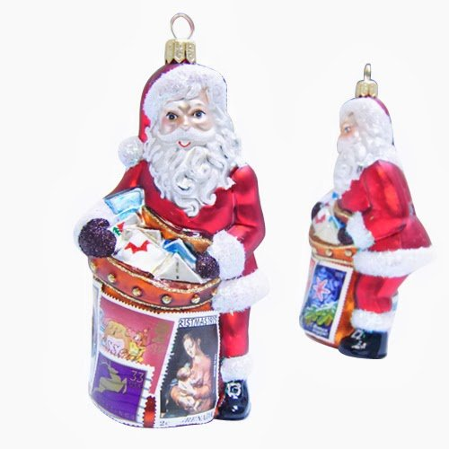 Ornaments to Remember: SANTA'S GOT MAIL Christmas Ornament (International)