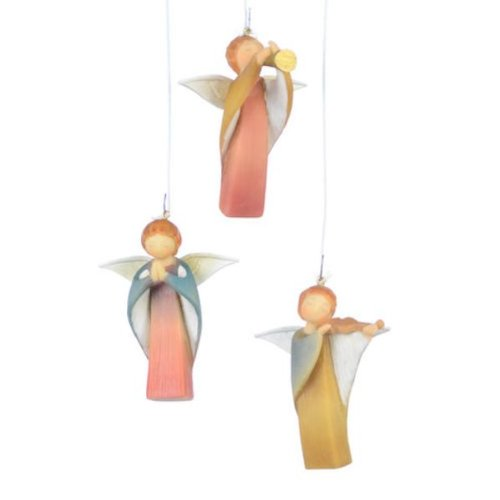 One Hundred 80 Degrees Angel Ornaments, Set of 3