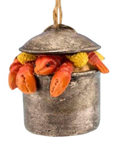 Lobster Pot Christmas Ornament