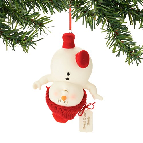 Department 56 Snowpinions Head Over Heels Ornament